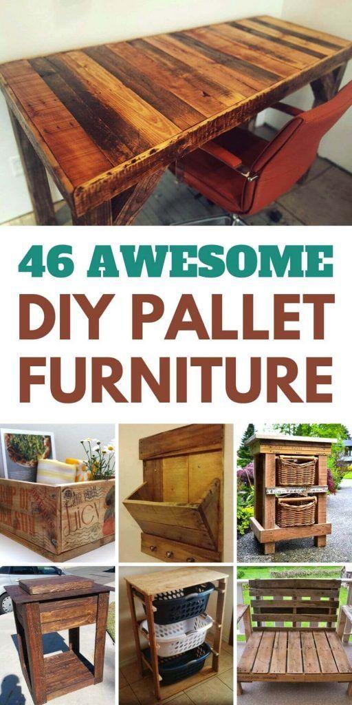 46 Awesome Diy Pallet Furniture Ideas, Pallet Furniture Images